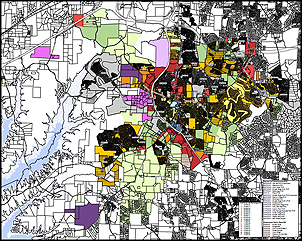 Holly Springs maps