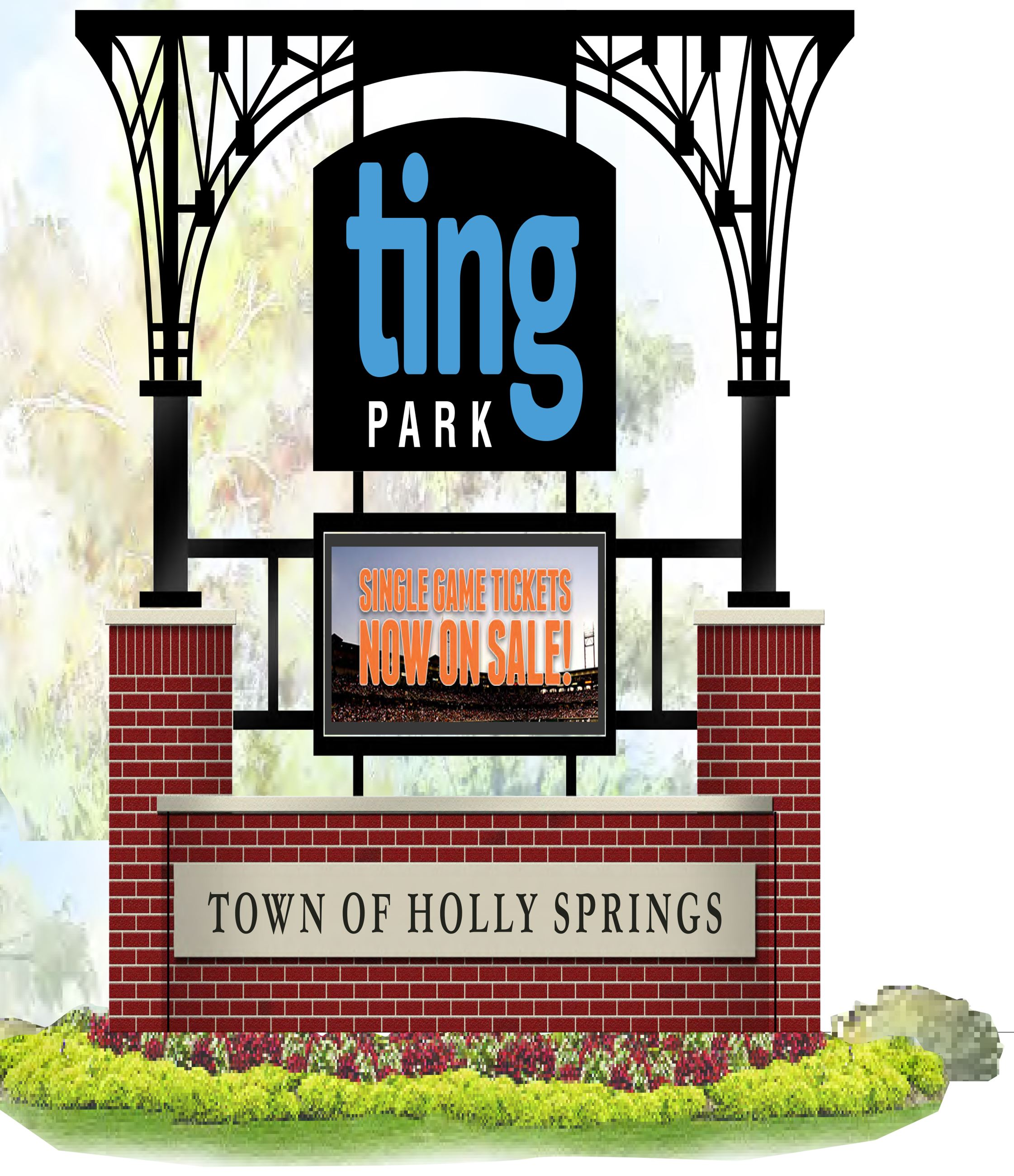 Ting Park Entrance Sign