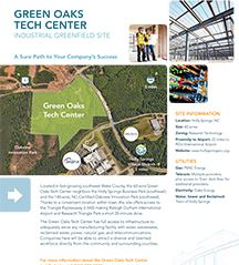 Green Oaks Tech Center brochure
