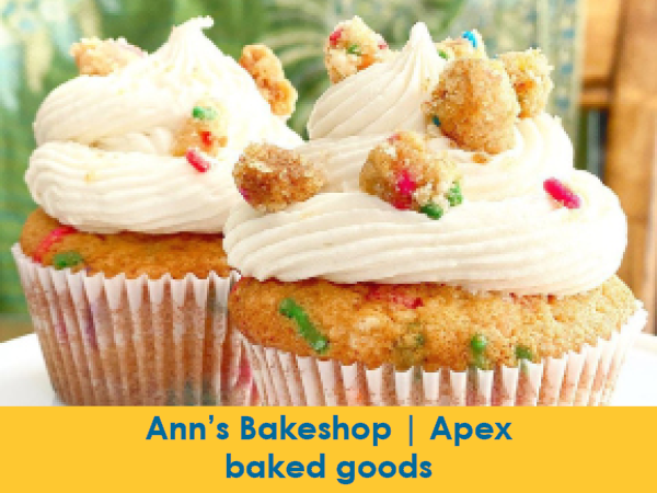 Anns Bakeshop, Apex, Baked Goods including gluten-free and keto-friendly options