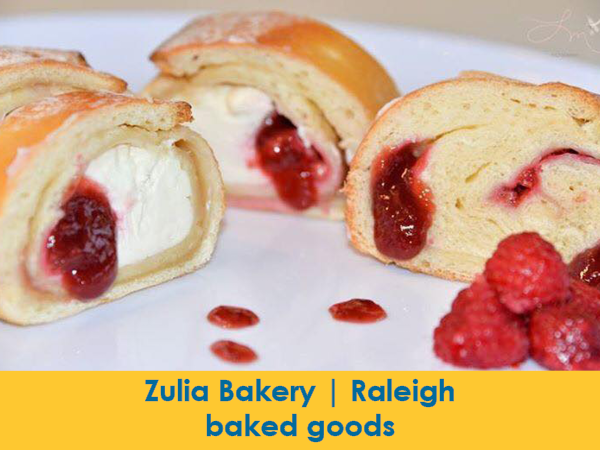 Zulia Bakery, Raleigh, rollwiches, sweet & savory bread rolls