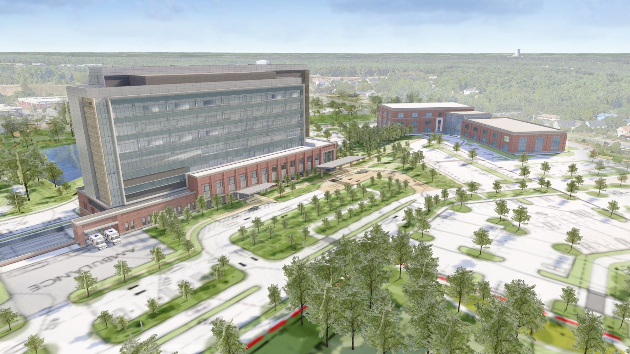 Holly Springs Hospital Rendering