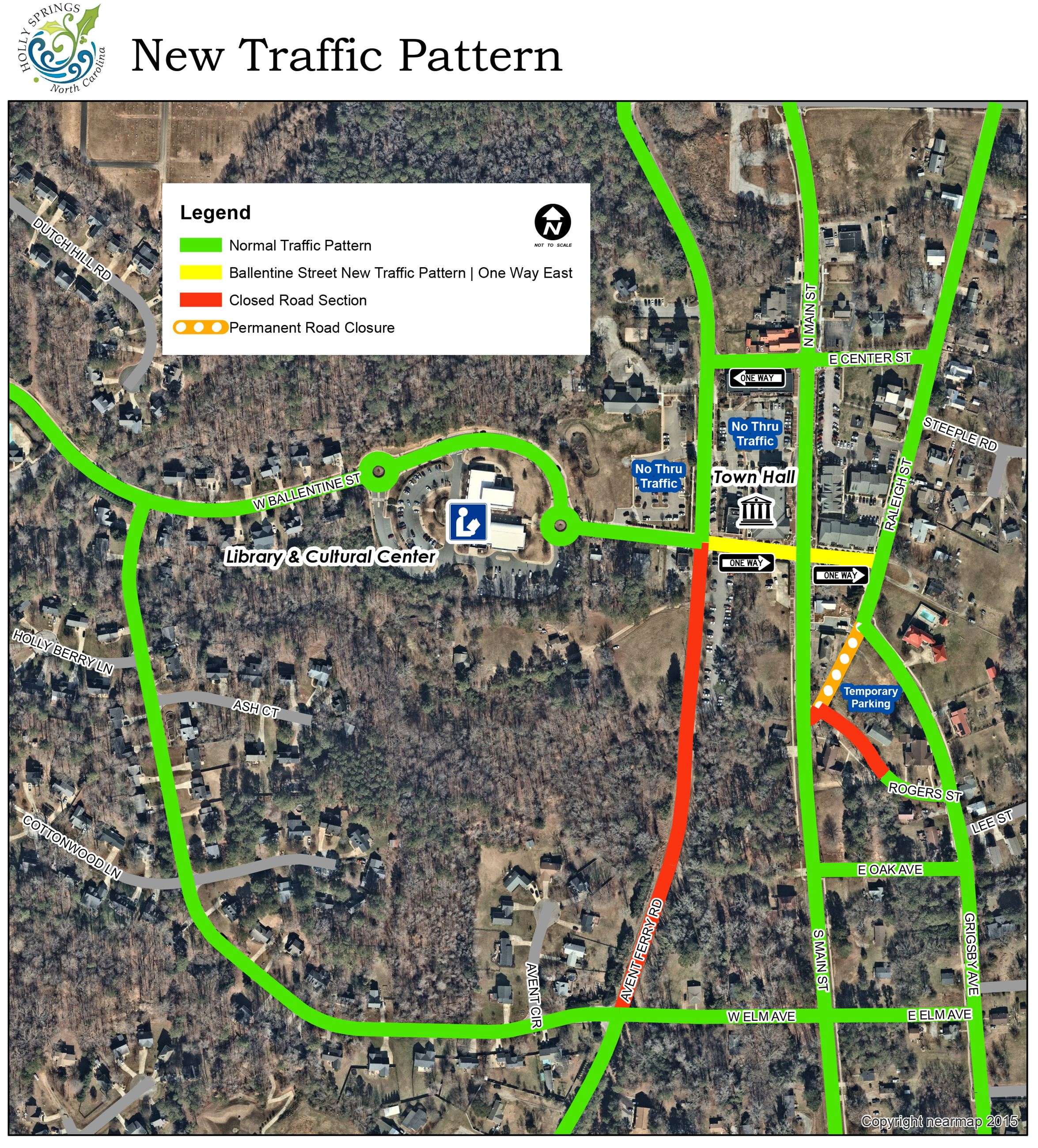 New Traffic Pattern Opens in new window