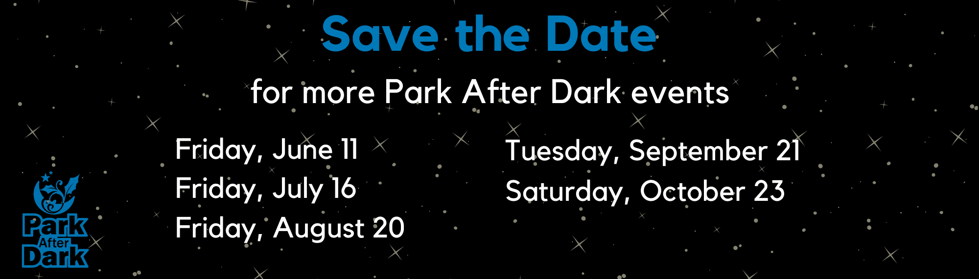 Park After Dark Website Calendar